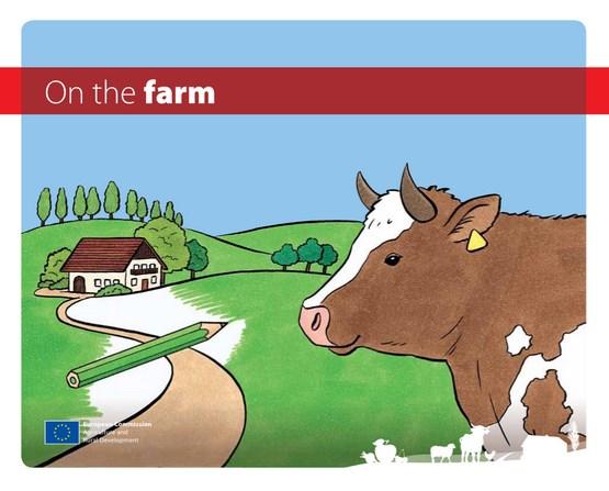 Solicita Este Libro Para Colorear Gratis On The Farm Para Niños